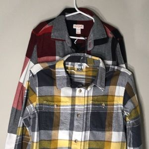 Other - Two button down flannels